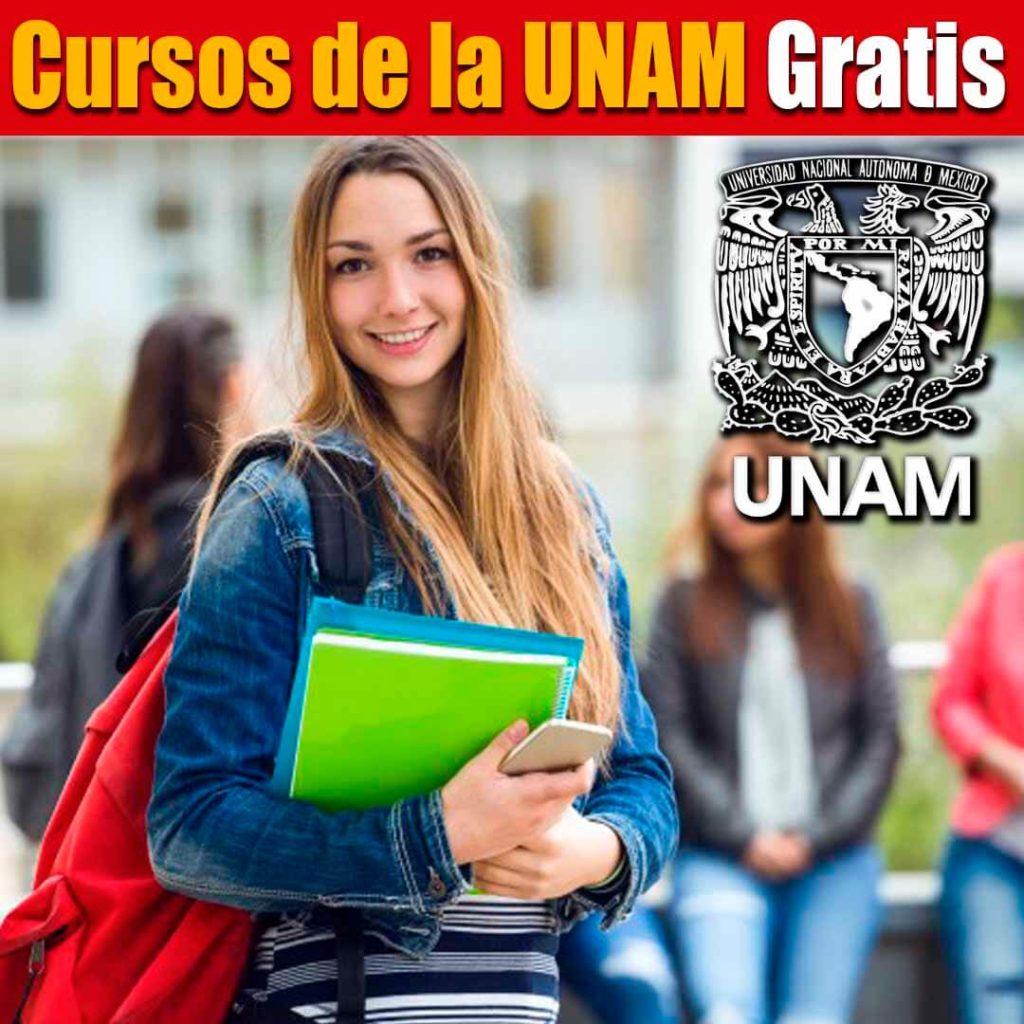 Cursos de la UNAM gratis