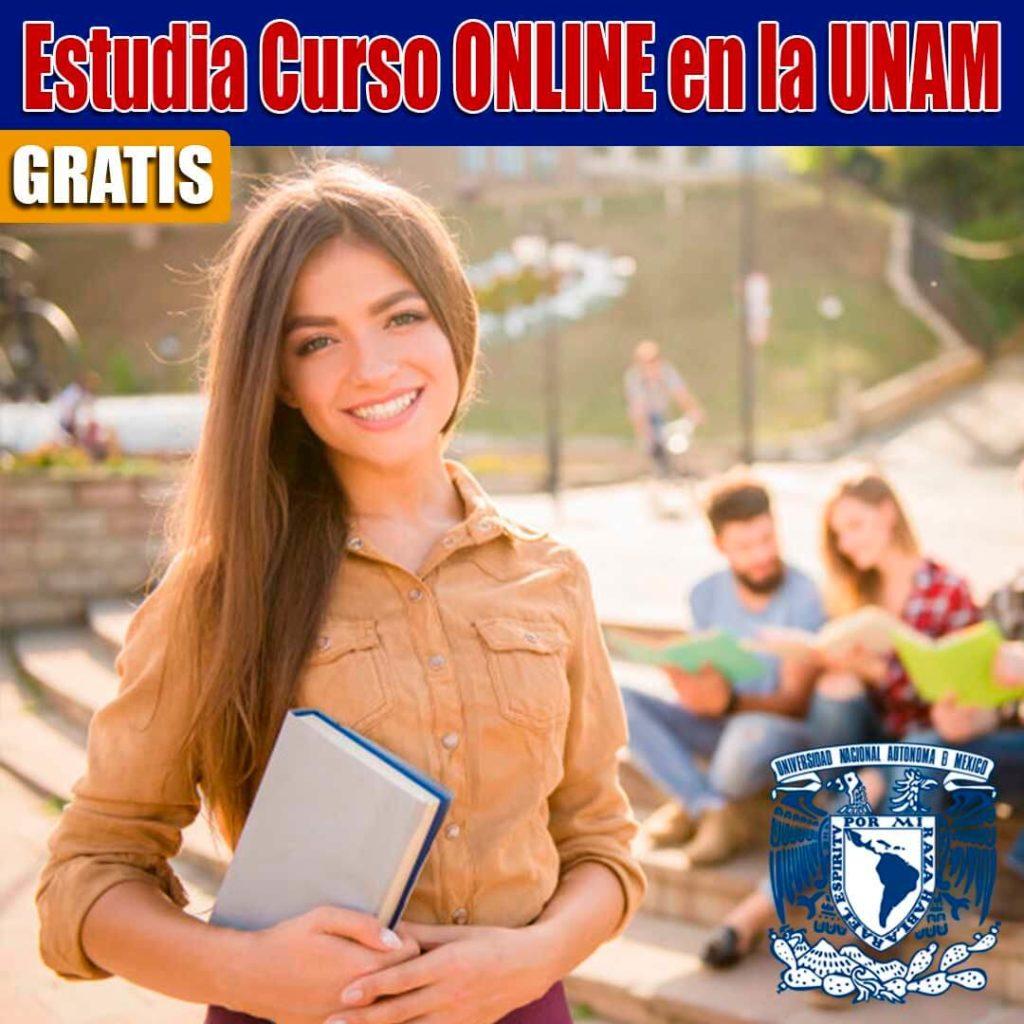 Cursos gratuitos en línea de la UNAM